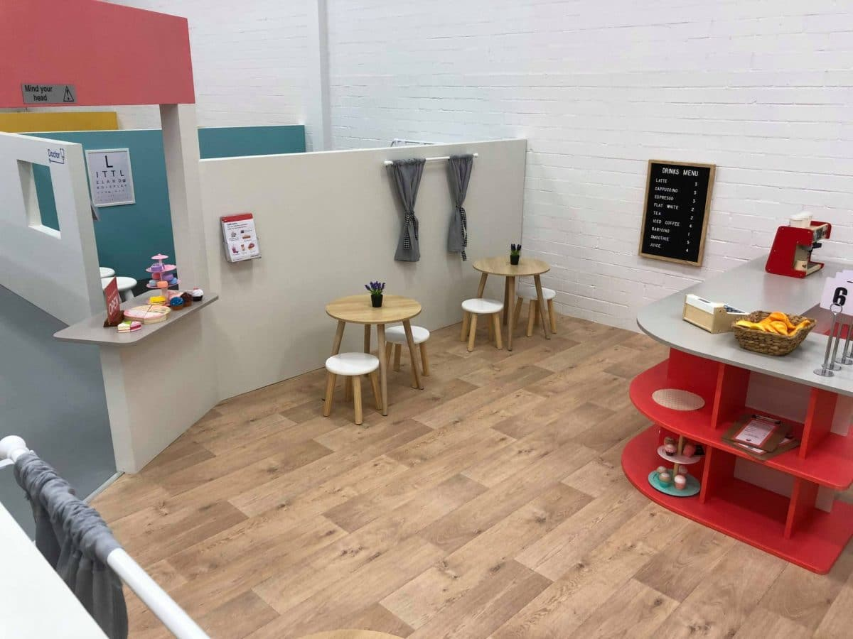 Little Land cafe play stall