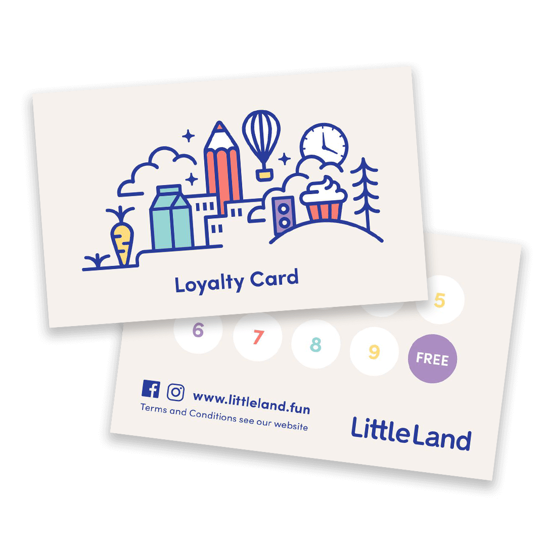 little-land-loyalty-card-program